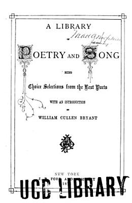 A Library of Poetry and Song PDF
