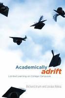 Academically Adrift PDF