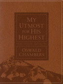 My Utmost for His Highest Devotional Journal PDF