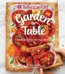 American Girl  Garden to Table Book