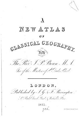 A new atlas of classical geography PDF