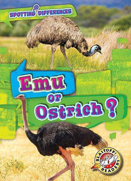 Download Emu or Ostrich  Book