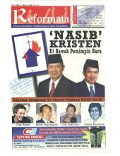 Tabloid Reformata Edisi 19, Oktober 2004