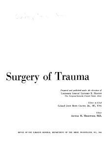 Neurological Surgery of Trauma PDF