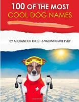100 of the Most Cool Dog Names PDF