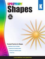 Shapes Grade K