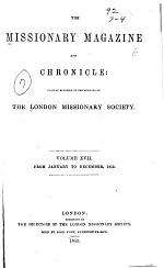 The Missionary Magazine and Chronicle