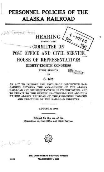 Personnel Policies of the Alaska Railroad PDF
