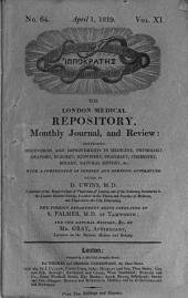 The London Medical Repository: Monthly Journal and Review, Volume 11