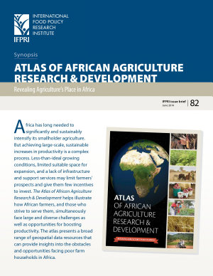 Synopsis of Atlas of african agriculture research and development PDF