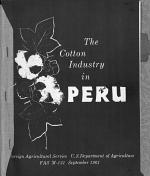 The Cotton Industry in Peru