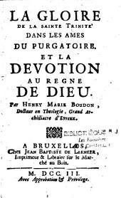 La gloire de la Sainte Trinité dans les âmes du Purgatoire et la dévotion au règne de Dieu