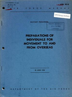 Preparations of Individuals for Movement to and from Overseas