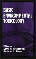 Basic Environmental Toxicology PDF