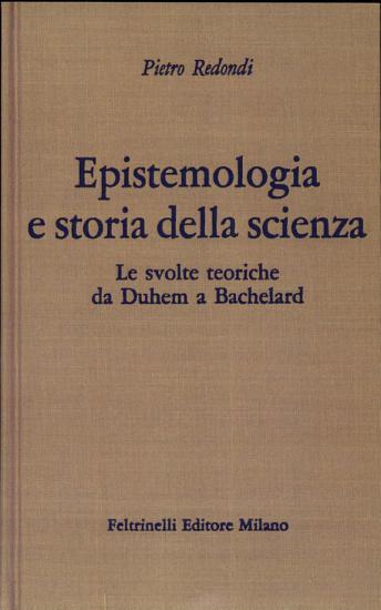 Epistemologia e storia della scienza PDF