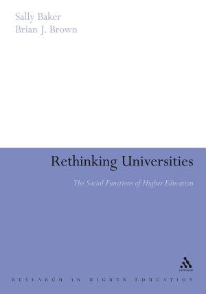 Rethinking Universities
