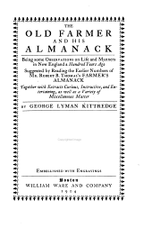 Old Farmer and His Almanack
