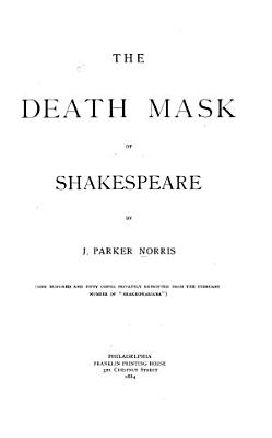 The Death Mask of Shakespeare
