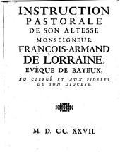 Instruction pastorale au clerge et aux fideles de son diocese (de Bayeux.)