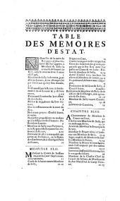 Mémoires ou Oeconomies royales d'Estat, domestiques, politiques et militaires de Henry le Grand par Maximilian de Béthune Sully
