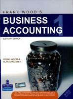 Frank Wood s Business Accounting Volume 1  11 e  New Edition  PDF