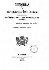 Memorias de litteratura portugueza  publicadas pela Academia real das sciencias de Lisboa  Tomo 1     8   PDF