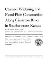 Channel Widening and Flood-plain Construction Along Cimarron River in Southwestern Kansas