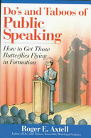 Do's and Taboos of Public Speaking