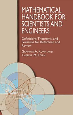 Mathematical Handbook for Scientists and Engineers PDF