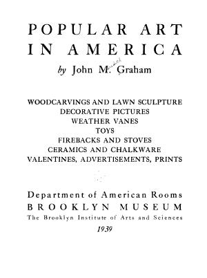 Popular Art in America PDF