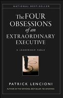 The Four Obsessions of an Extraordinary Executive PDF