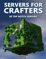 Servers for Crafters   30 Top Notch Servers   An Unofficial Minecraft Book  PDF