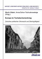 Europa im Tschetschenienkrieg  Zwischen politischer Ohnmacht und Gleichg  ltigkeit PDF