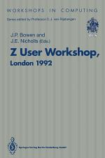 Z User Workshop, London 1992