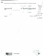 Journal of Computing in Teacher Education PDF