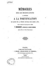 Mémoires sur les modifications a apporter a la fortification en raison de la portée nouvelle des armes a feu par V. Mordret