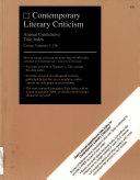 Contemporary Literary Criticism PDF