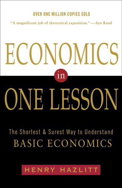 Download Economics in One Lesson Book