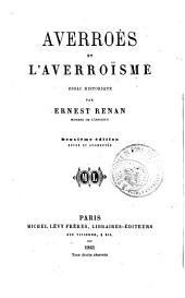 Averroès et l'averroïsme: essai historique