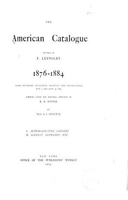 The American Catalogue PDF