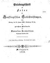 Ueber Goethes Götz von Berlichingen...