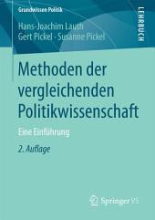 Methoden der vergleichenden Politikwissenschaft: Eine Einführung, Ausgabe 2