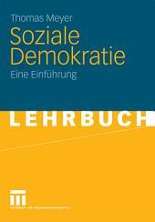 Soziale Demokratie: Eine Einführung