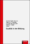 Qualit  t in der Bildung PDF