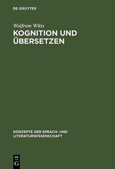 Kognition und   bersetzen PDF