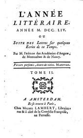 """L' année littéraire [ou]: Suite des """"Lettres"""" ..."""