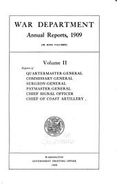 Annual Report of the Secretary of War: Volume 2
