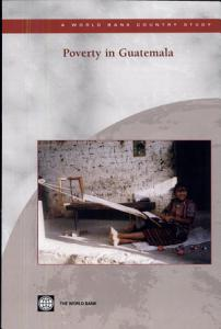 Poverty in Guatemala Book