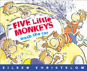 Five Little Monkeys Wash The Car Book PDF