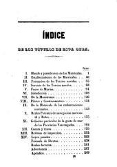 Ordananza de S.M: p el régimen y gobierno militar de las Matrículas de Mar